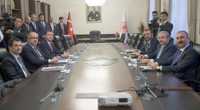 2 Komisyon başkanı, Cumhurbaşkanı Erdoğan ve Devlet Bahçeli ile görüşecek