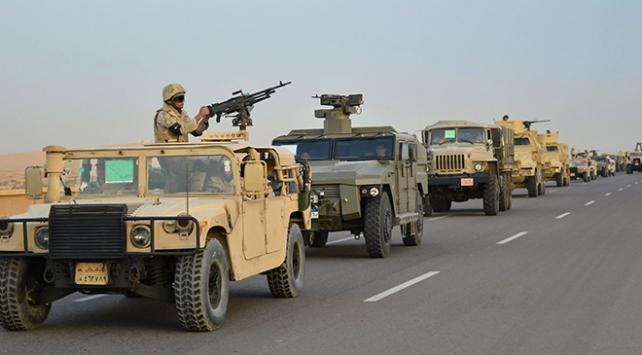 Mısır ordusunun Sinadaki operasyonları