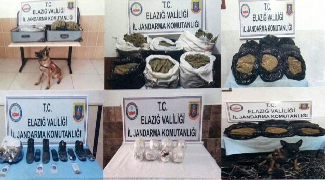 Jandarma Elazığda kaçakçılara göz açtırmadı