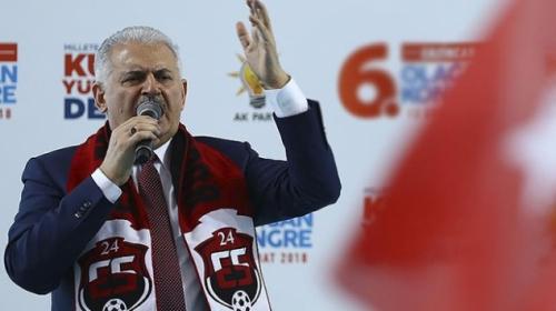 Başbakan Yıldırım: Türkiye'nin dostluğu sizin için önemli ise bir an önce bu yoldan vazgeçin