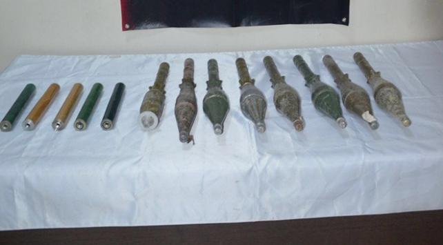 Vanda 7 antitank roketi ele geçirildi