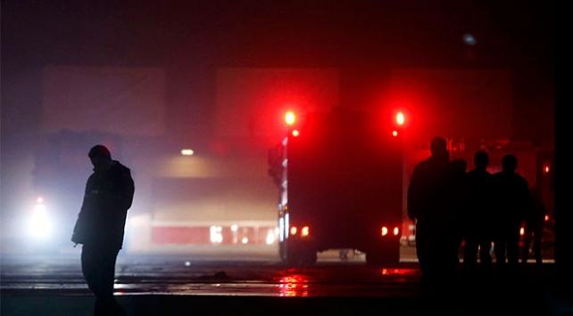 İstanbuldaki CNR Expo Fuar Merkezinde yangın
