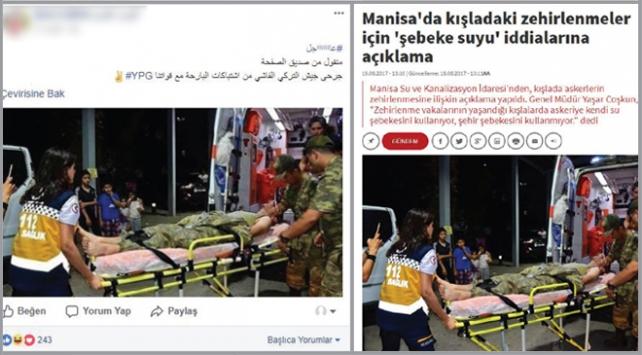 YPG/PKKnın Afrin yalanları tek tek deşifre edildi