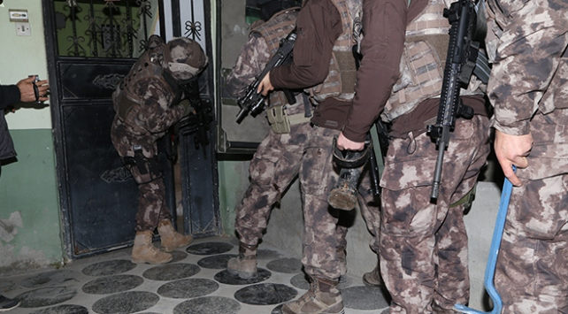 6 ilde Adana merkezli terör operasyonu