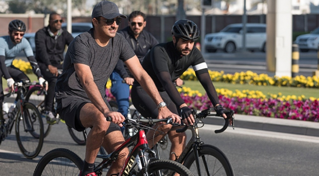 Katar Emiri, Instagram hesabı açan ilk Körfez lideri oldu