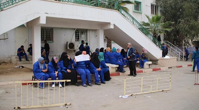 Gazzede sağlık hizmetleri durdu