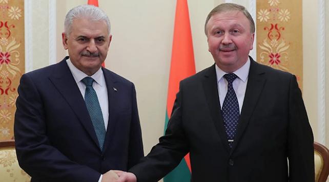 Başbakan Yıldırım ile Belarus Başbakanı Kobyakovdan ticari ilişkileri geliştirme vurgusu