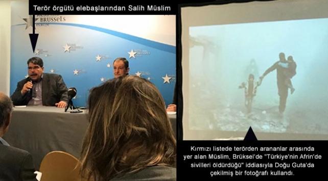 Terör örgütü elebaşlarından Doğu Guta fotoğrafıyla propaganda