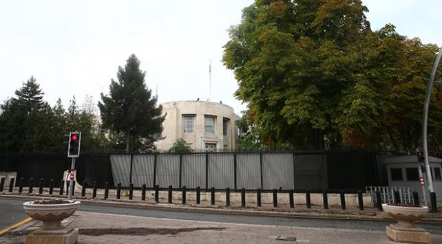 """ABD Büyükelçiliğinin bulunduğu caddenin adı """"Zeytin Dalı"""" oldu"""