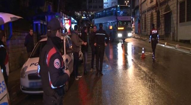 İstanbulda 2 bin polisle Yeditepe Huzur uygulaması yapılıyor