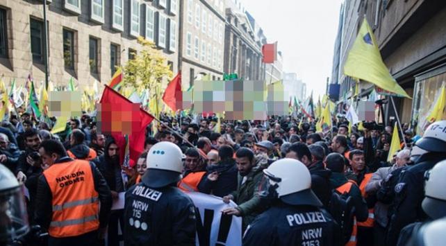 Almanyada sık sık gösteri düzenleyen PKKya yasak