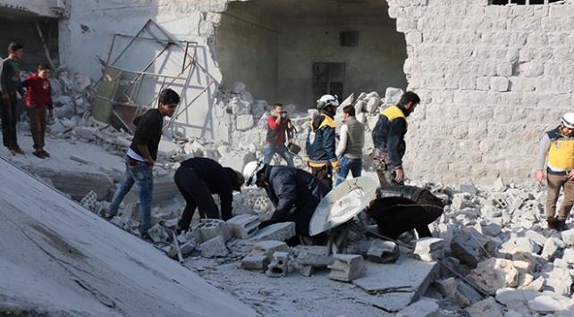 İdlibe hava saldırıları: 7 ölü, 10 yaralı