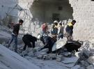İdlib'e hava saldırıları 7 ölü 10 yaralı