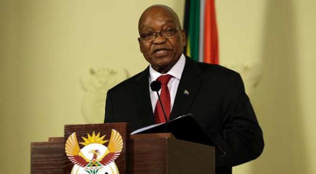 Güney Afrika Devlet Başkanı Zuma görevinden istifa etti