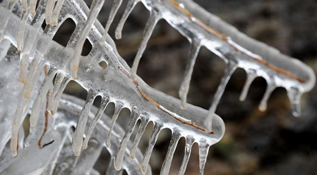 Gecenin en düşük sıcaklığı eksi 14 dereceyle Ardahanda ölçüldü