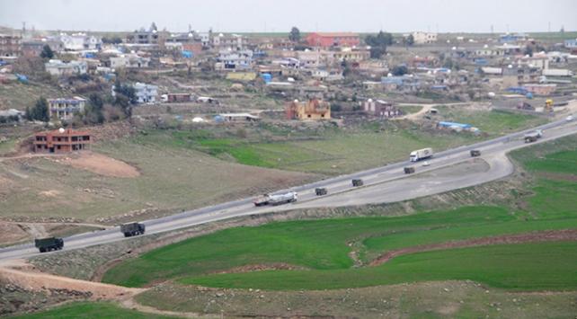 Şırnaktan sınıra askeri sevkiyat