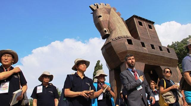 Truvayı bir yılda 329 bin kişi ziyaret etti