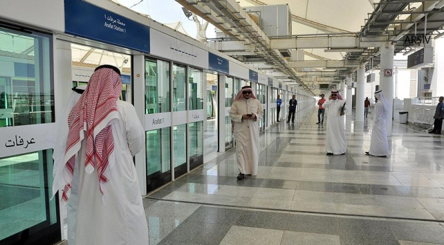 Mekke-Medine Hızlı Tren Hattında test sürüşleri başladı