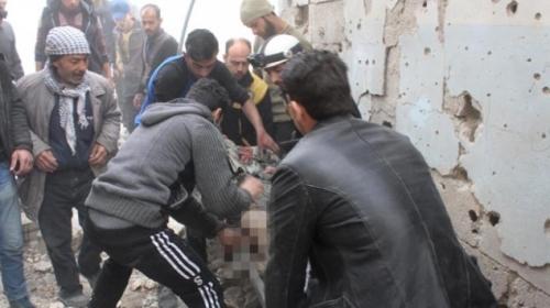 Esed rejimi Doğu Guta'da sivil katliama devam ediyor