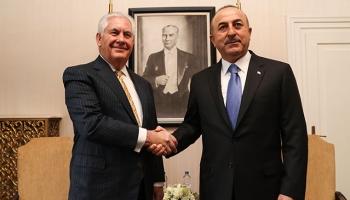 Dışişleri Bakanı Çavuşoğlu, ABDli mevkidaşıyla bir araya geldi