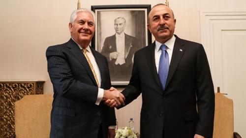 Dışişleri Bakanı Çavuşoğlu, ABD'li mevkidaşıyla bir araya geldi