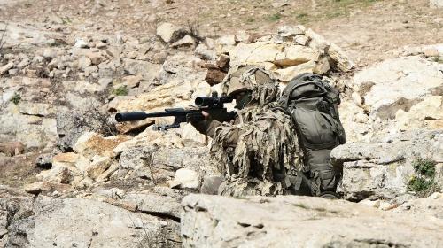 TSK'nin keskin nişancıları Afrin'de