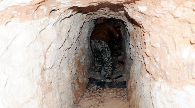 YPG/PKKlı teröristler her tepeye kule ve tünel inşa etmiş