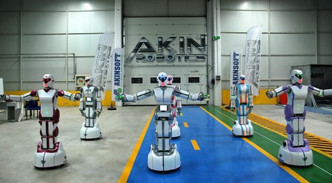 Yerli insansı robotların 10 parmağında 10 marifet var
