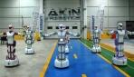 """Konya'da üretilen yerli insansı robotlar, """"Erik Dalı"""" oynuyor"""
