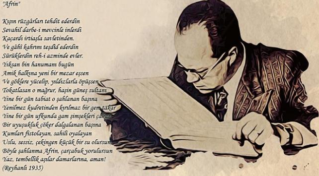 Cemil Meriç 83 yıl önce Afrin için şiir yazmış