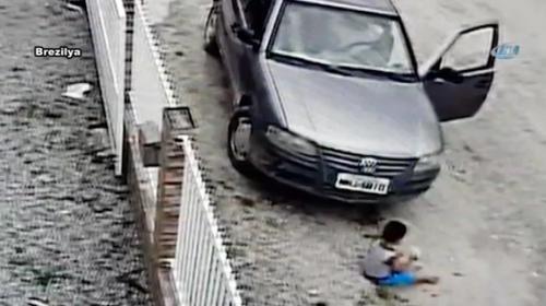 """Brezilyada yaşanan kazada """"mucize"""" kurtuluş"""