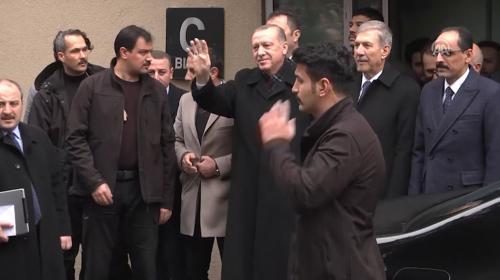 Cumhurbaşkanı Erdoğandan hasta ziyareti
