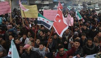 Babda Esed rejimi karşıtı gösteri