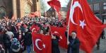 Almanyada Türk Silahlı Kuvvetlerine destek mitingi