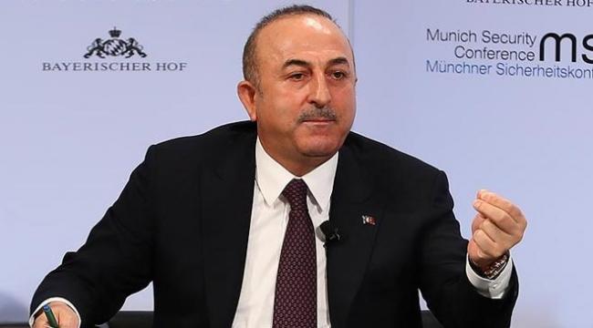 Dışişleri Bakanı Çavuşoğlu: Kimyasal silah iddiaları saçma sapan