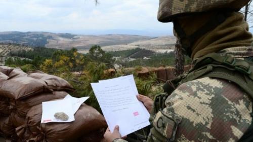 Minik kalplerden Mehmetçiği duygulandıran mektuplar