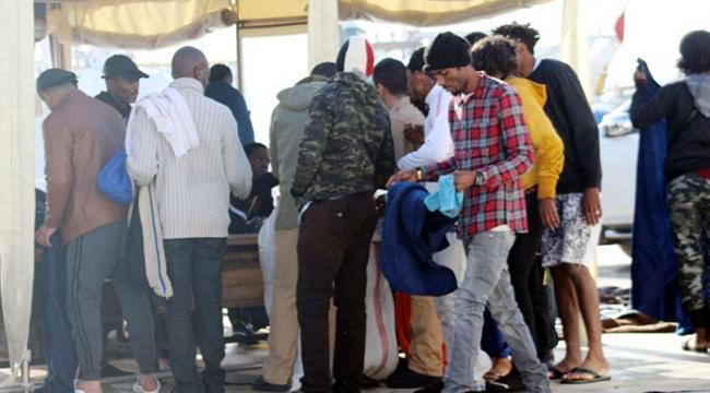 Ayvalıkta 55 kaçak göçmen yakalandı