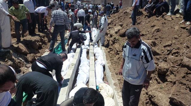 Suriyeden Yine Katliam Haberi