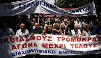 Yunan Gazeteciler Grevde