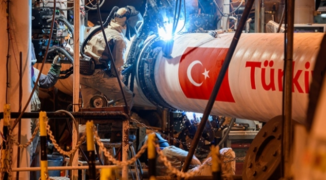 TürkAkımın deniz bölümünün yüzde 48i tamamlandı