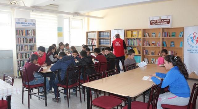 Afrin şehitlerinin isimleri kütüphanelerde yaşatılacak