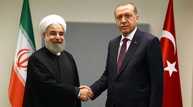 Cumhurbaşkanı Erdoğan ve İran Cumhurbaşkanı Ruhaniden terörle mücadelede işbirliği vurgusu