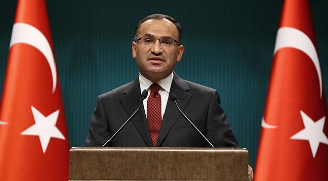 Başbakan Yardımcısı Bekir Bozdağ: Rejimin bu yönde adım atması çok büyük felakete yol açar