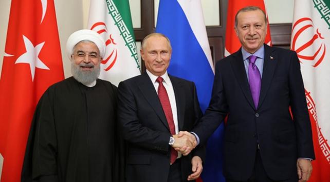 Kremlin: Türk, Rus, İran liderleri nisanda İstanbulda buluşacak
