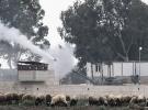 Afrin'in batısındaki terör mevzileri top atışlarıyla vuruluyor