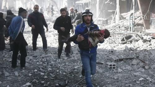 Doğu Guta kan ağlıyor: 48 saatte 167 sivil hayatını kaybetti