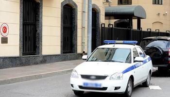 """Türkiyenin Moskova Büyükelçiliğine """"beyaz toz"""" bulunan zarf gönderildi"""