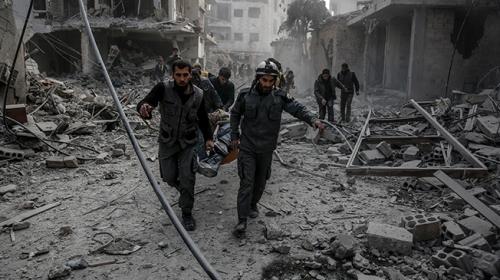 Doğu Gutada 2 günde 250 sivil hayatını kaybetti