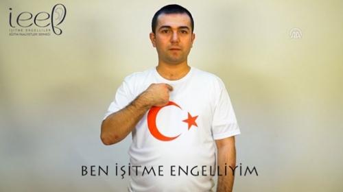 İşitme engellilerden Mehmetçiğe destek videosu