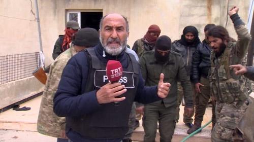 Ele geçirilen Arap Viran köyündeki teröristlerin gizlendiği binaları TRT Haber görüntüledi